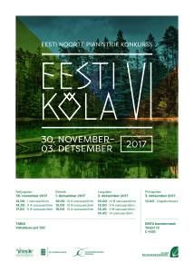 Eesti kõla VI plakat