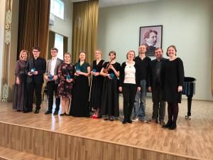 TMKK osalejad pärast Vilniuse kontserti